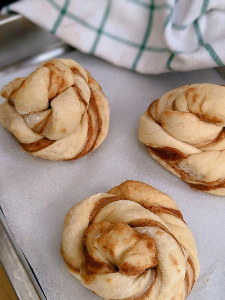 Skogen Kitchen bake at home cinnamon buns | Image credit Bitten Oxford