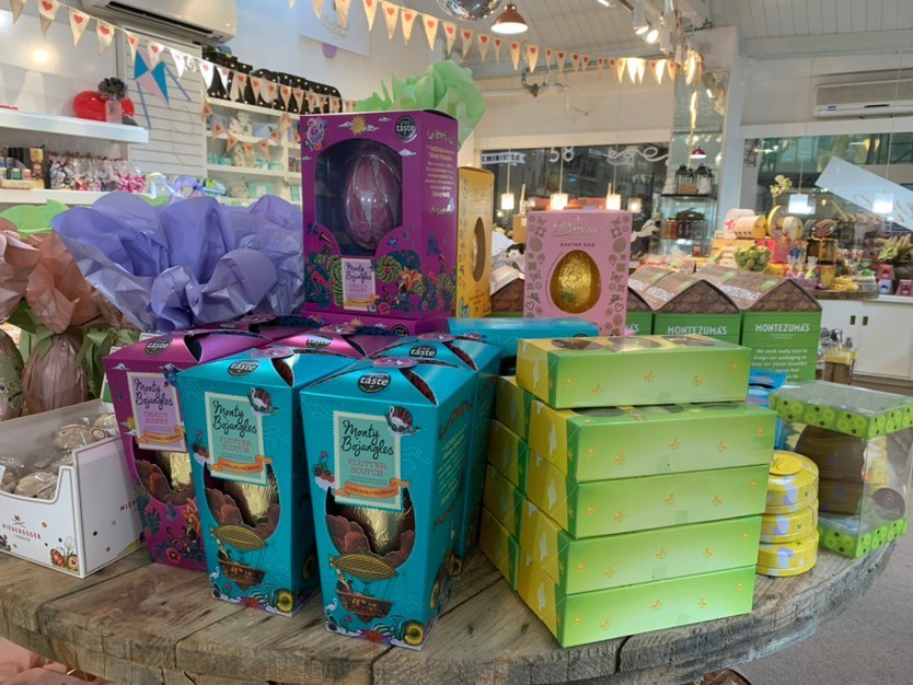 Easter Eggs from Wicked Chocolate in Oxford's Covered Market