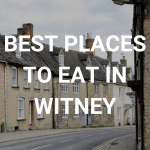 Best places to eat in Witney