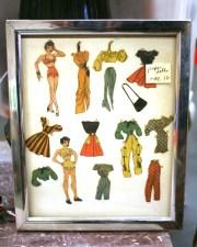 Vintage Paper Doll