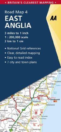 AA Road Map 4 - East Anglia