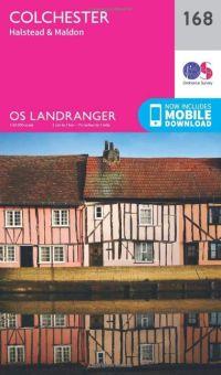 OS Landranger - 168 - Colchester, Halstead & Maldon