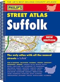 Philips Spiral Street Atlas - Suffolk