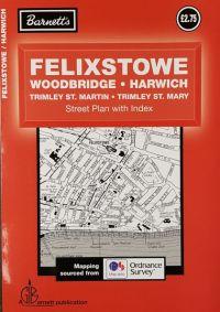 Barnett Felixstowe, Woodbridge, Harwich Street Plan