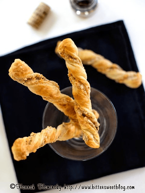 Lemon-Pepper Cheese Straws
