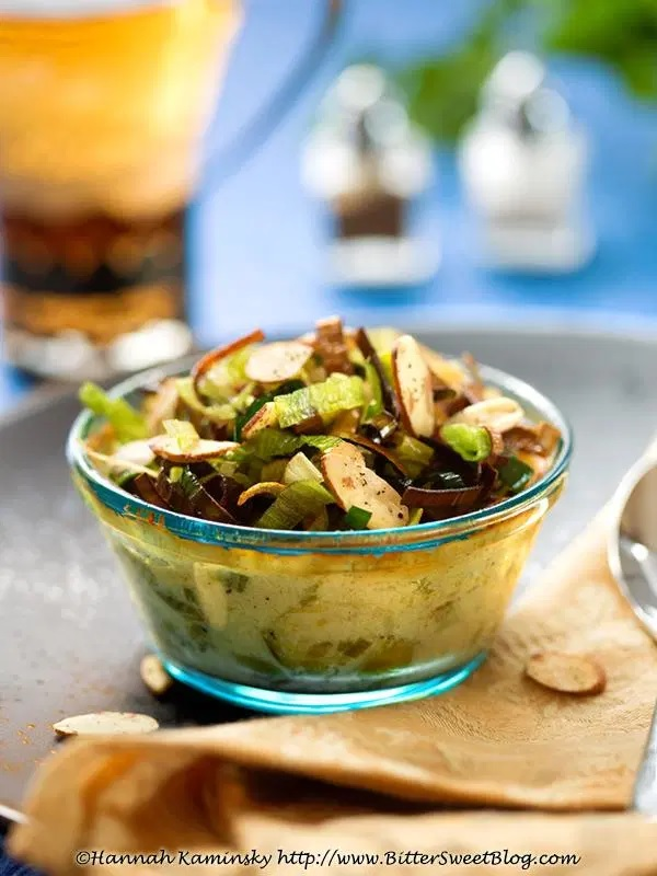 Truffled Brussels Sprouts Gratin
