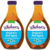 Wholesome Organic Blue Agave Nectar, Natural Low Glycemic Sweetener, Non GMO, Fair Trade & Gluten Free, 44 oz (Pack of 2)