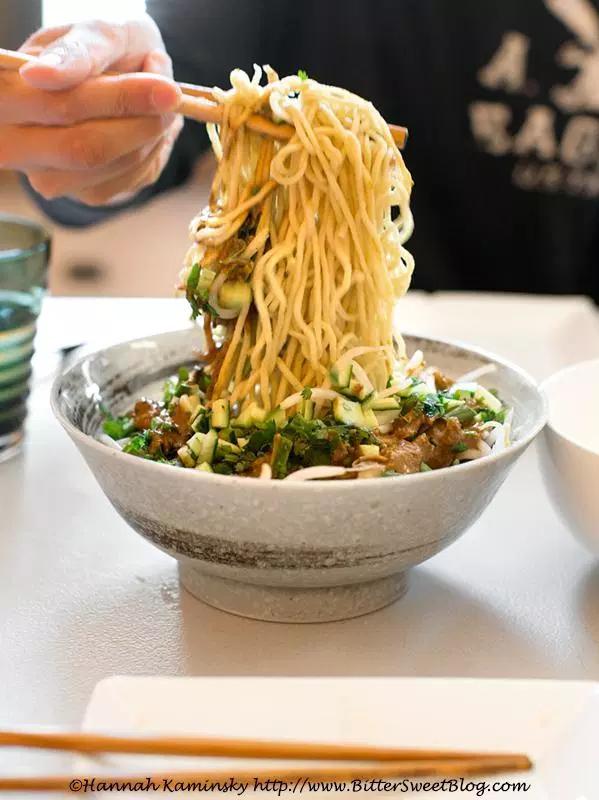 Cold Szechuan Sesame Noodles