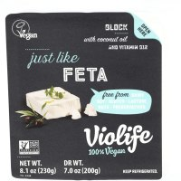 Violife, Just Like Feta Block, 8.1 Ounce