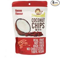 MW polar Crispconut Coconut Chip, Bacon, 1.40 Ounce (Pack of 8)