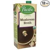 Pacific Foods Organic Mushroom Broth, 32oz, 12-pack