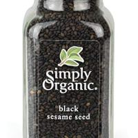 Simply Organic Certified Black Whole Sesame Seed, 3.28 oz