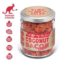 PIMP MY SALAD Vegan Bacon Substitute | Keto, Gluten Free, Dairy Free, Paleo | Crunchy Meal & Salad Toppers Made with Whole Food Ingredients | Coconut Bacon | Eco Jar | 2.1 oz