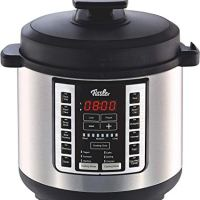 Fissler Multi Pot / Pressure Cooker, (6-Quart), Stainless Steel, Slow-Cooker, Multi-Use, Rice, Steamer, Sauté - 18 1-Touch Programs