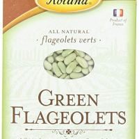 Roland Green Flageolets, 17.6 Ounce (Pack of 4)