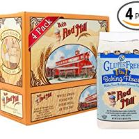 Bob's Red Mill Gluten Free 1-to-1 Baking Flour, 22 Ounce (Pack of 4)