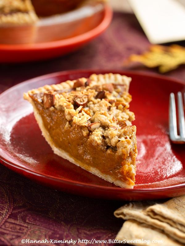 Pumpkin Struesel Pie