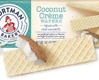 Voortman Coconut Creme Wafers, 14.1 oz