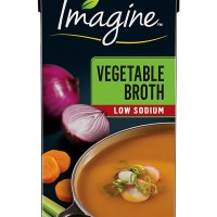 Imagine Organic Low-Sodium Vegetable Broth, 32 oz.
