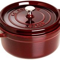Staub Cast Iron 13.25-qt Round Cocotte