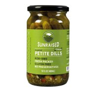 Sunraised Petite Dill Pickles, 16 oz