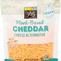 365 Everyday Value, Plant-Based Cheddar Cheese Alternative, 8 oz