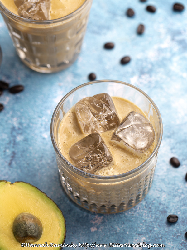 Avocado Iced Coffee
