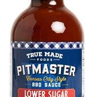True Made Foods Vegetable BBQ Sauce, Low Sugar, 18 oz