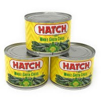 Hatch Mild Whole Green Chiles 4 Oz Cans - Pack of 3