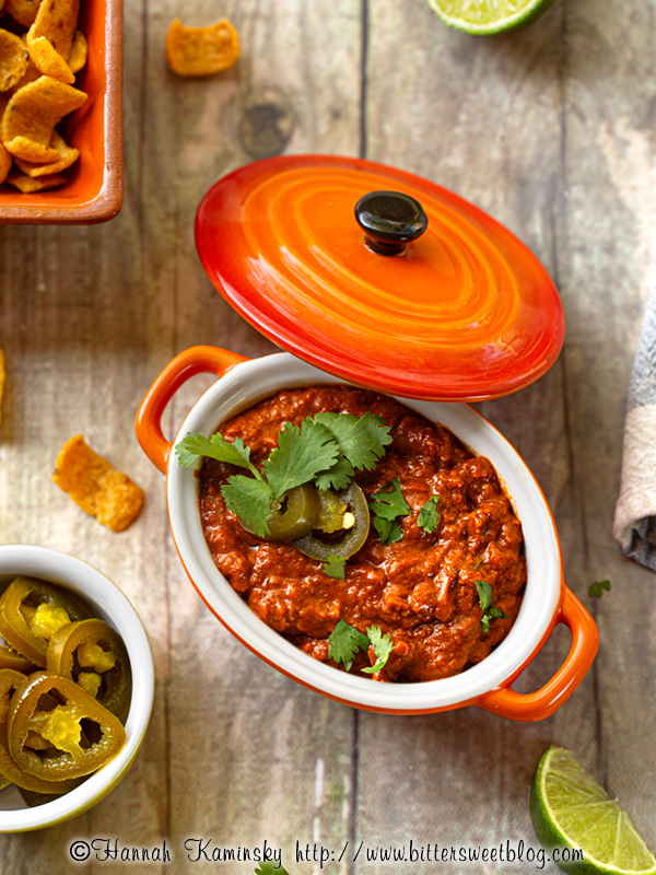 Meatless Texas-Style Chili