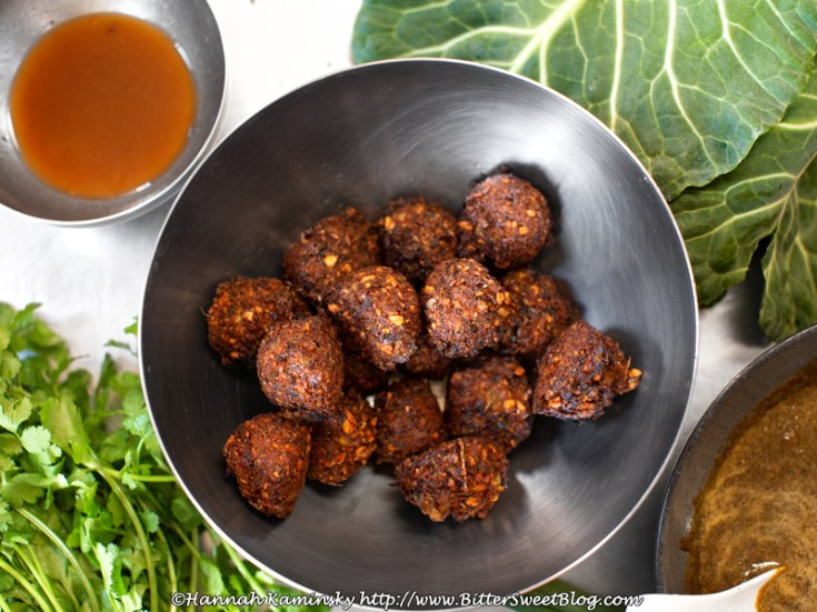 Black Eyed Pea Fritters (Accara)