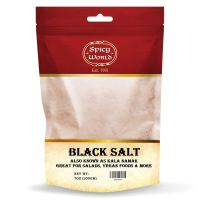 Spicy World Indian Black Salt 7 Ounce - Pure, Unrefined, and Natural (Kala Namak)