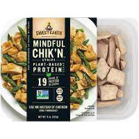 Sweet Earth, Chik N Strips Plant Based Mindful, 8 Ounce