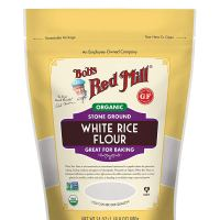 Bob's Red Mill Organic White Rice Flour, 24-ounce (Pack of 3)