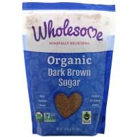 Wholesome, Organic Dark Brown Sugar, 1.5 lbs (24 oz.) - 680 g