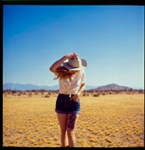 Dominique in Palmdale - Film - Yashica 124
