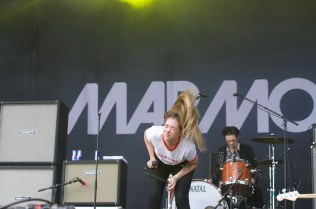 Marmozets performing at Bingley Music Live
