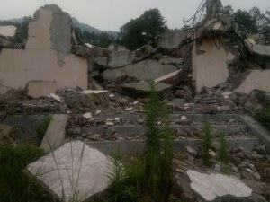 Three Self Church Demolished in Fujian_11