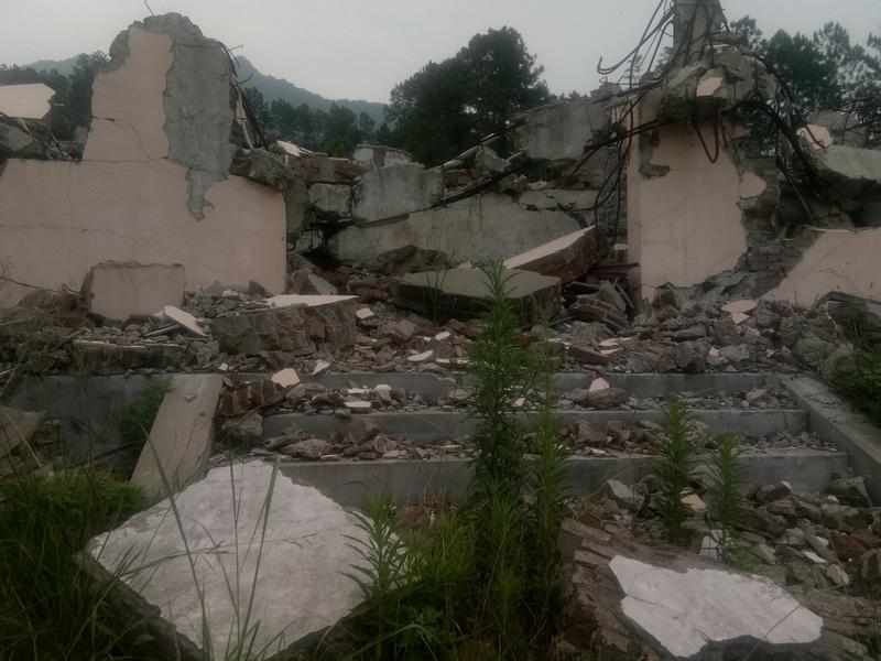 Three Self Church Demolished in Fujian_11