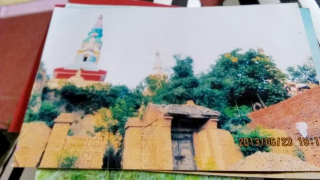 Temple in the summer of 2013