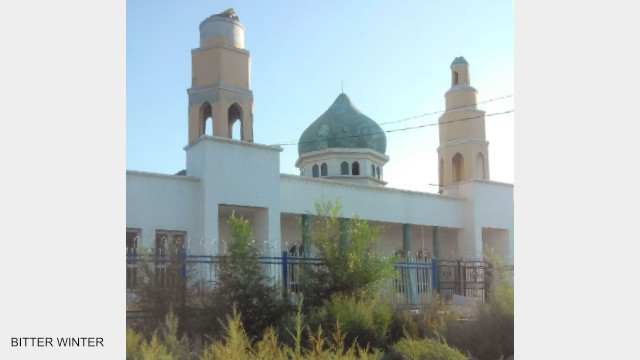 A mosque that the authorities are planning to convert into an entertainment venue