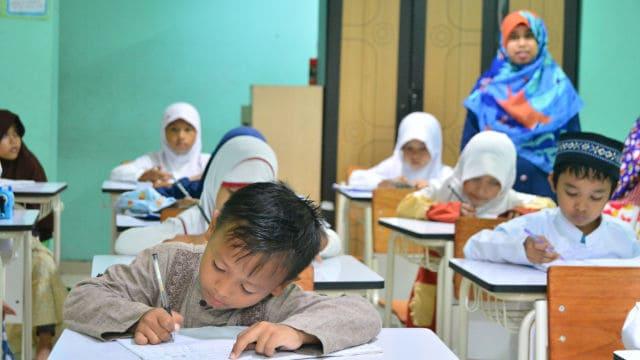 Class in kindergarten (taken from the Internet)