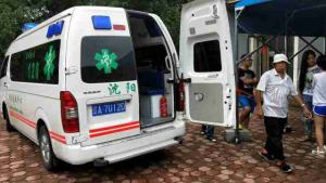 The ambulance (provided by an inside source)