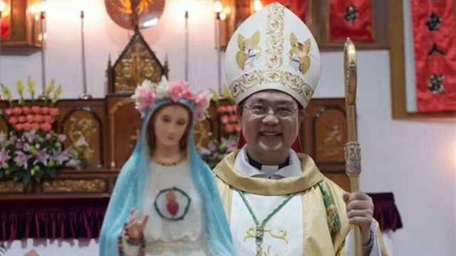 Msgr. Peter Shao Zhumin, bishop of Wenzhou