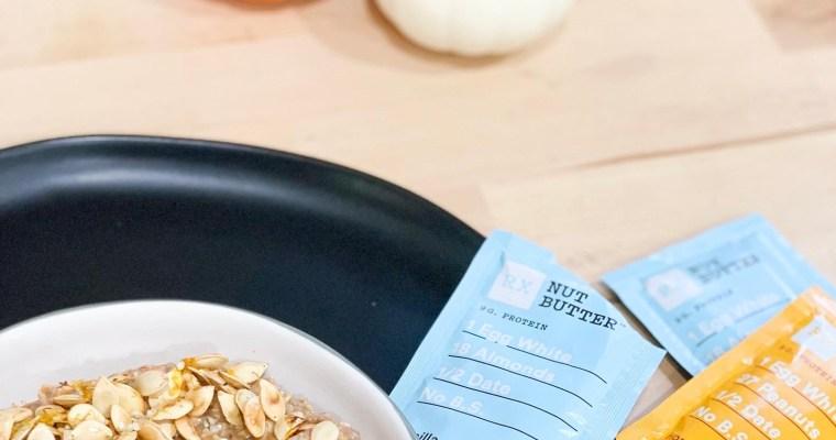 Pumpkin spice overnight steel cut oats OR oats