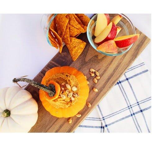 Pumpkin Spice Dessert Hummus