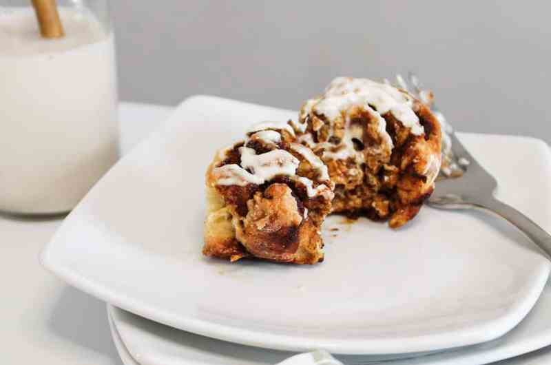 Quick & Healthier Cinnamon Buns