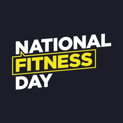 Graphic displaying National Fitiness Day