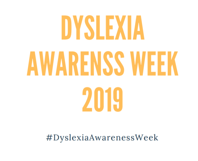 Dyslexia Awareness Week 2019 Poster