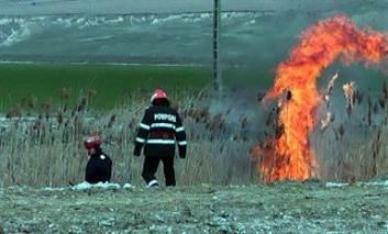 Cei peste 25 mii de fermieri ieşeni, avertizaţi de autorități să nu dea foc la mirişti